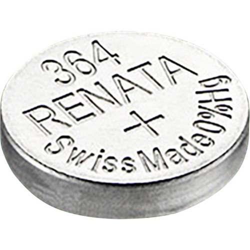 10 Pilha Bateria 364 Relógio 1.55v Renata Sr621s Original - 01 cartela com 10 unidades
