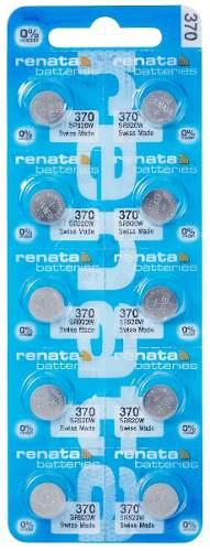 Pilha Bateria 370, Relógio 1.55v Renata Sr920w Original 10 Unid.