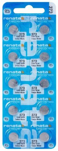 Pilha Bateria 373, Relógio 1.55v Renata Sr916s Original 10 Unid.