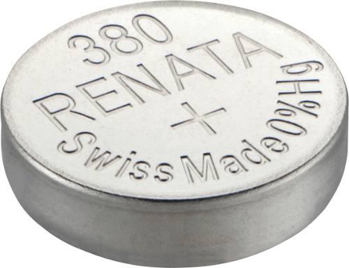 10 Pilha Bateria 380 Relógio 1.55v Renata Sr936w Original - 01 cartela com 10 unidades