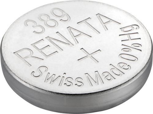 10 Pilha Bateria 389 Relógio 1.55v Renata Sr1130 Original - 01 cartela com 10 unidades