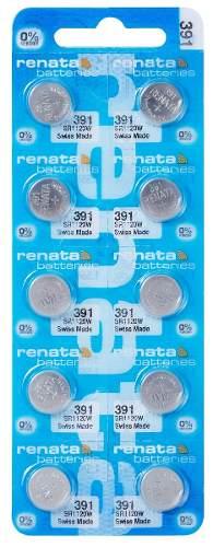Pilha Bateria 391, Relógio 1.55v Renata Sr1120 Original 10 Unid.