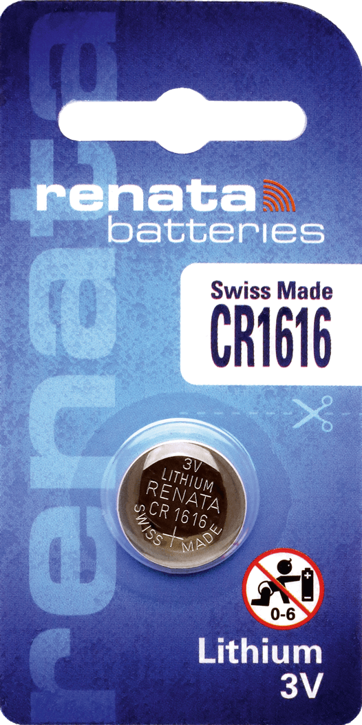 10 Baterias Pilhas Lithium Renata CR1616 - 01 caixa