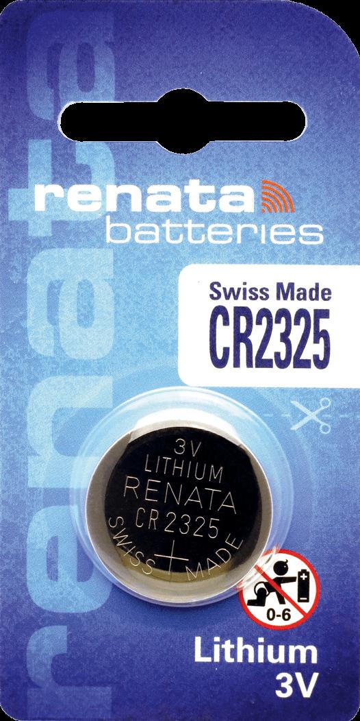 10 Baterias Pilhas Lithium Renata CR2325 - 01 caixa