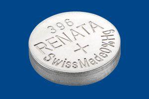 Pilha Bateria 396, Relógio 1.55v Renata SR726W Original 10 Unid.