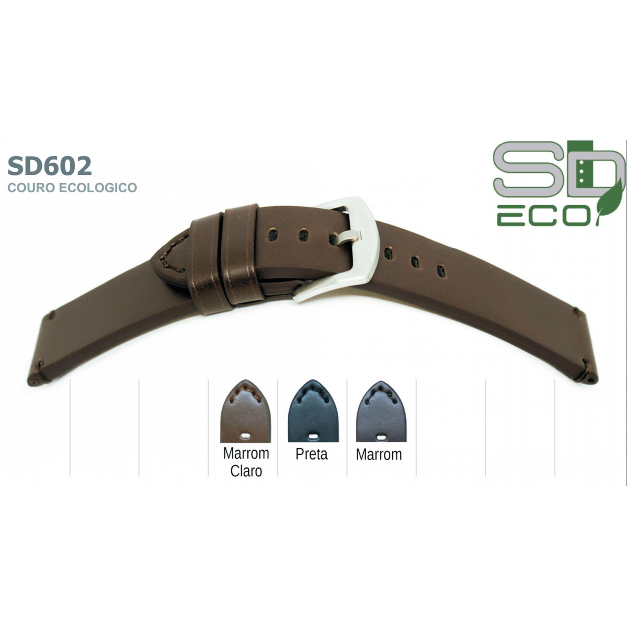 Pulseira de Couro Ecológico SDeco 602