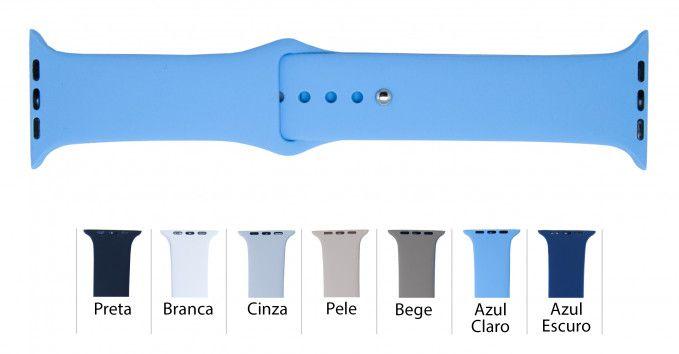 Pulseira Silicone para Apple Watch SS111AP 38/40mm e 42/44mm (alta qualidade)