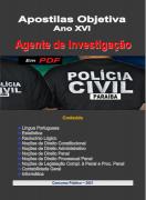 AGENTE de INVESTIGAÇÃO- Apostila em PDF-Polícia Civil-PARAÍBA-2021