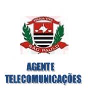 AGENTE de TELECOMUNICAÇÕES - Polícia Civil SP- 2017-18 - Apostila-Completa em PDF
