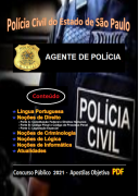 AGENTE POLICIAL da Polícia Civil SP - Apostila (em PDF) - Concurso - 2021