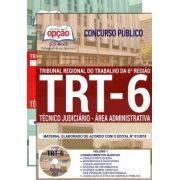 Apostila Completa IMPRESSA-TRT- 6ª - Pernambuco- Técnico Jud. Administrativa-1.8