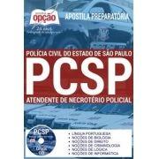 Apostila Concurso ATENDENTE DE NECROTÉRIO POLÍCIA CIVIL - SP.