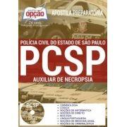 Apostila Concurso AUXILIAR DE NECRÓPSIA POLÍCIA CIVIL - SP.