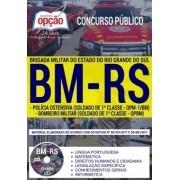 Apostila Concurso BRIGADA MILITAR RS - ( Editora Opção )