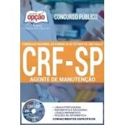 Apostila Concurso CRF-SP | AGENTE DE MANUTENÇÃO.