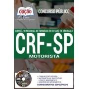 Apostila Concurso CRF-SP | MOTORISTA - (Editora Opção)