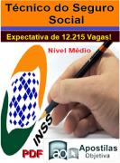 Apostila Concurso INSS (em PDF) Técnico do Seguro Social 2016