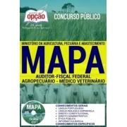 APOSTILA CONCURSO MAPA|AUDITOR FISCAL FEDERAL AGROPECUÁRIO - MÉDICO VETERINÁRIO