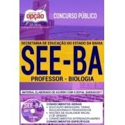 Apostila Concurso SEE - BA - Professor - Biologia ( Editora Opção )