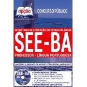 Apostila Concurso SEE - BA - Professor - Lingua Portuguesa ( Editora Opção )