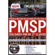 APOSTILA IMPRESSA - CONCURSO SOLDADO DA PM São Paulo - Concurso – 2018