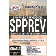 Apostila Concurso SPPREV-SP - 2019 - Técnico em Gestão Previdenciária