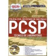 Apostila Concurso TÉCNICO DE LABORATÓRIO POLÍCIA CIVIL - SP.