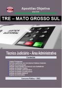Apostila-Concurso-TRE-MATO GROSSO SUL-2021-em-PDF-Técnico-Jud.-Administrativa