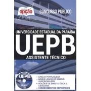 APOSTILA CONCURSO UNIVERSIDADE ESTADUAL PARAIBA - UEPB (2017)