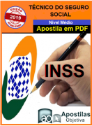 Apostila (em PDF)-Concurso INSS -Técnico do Seguro Social-2020