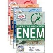 Apostila ENEM - EXAME NACIONAL DE ENSINO MÉDIO - ENEM (2 Volumes)