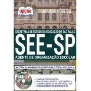 Apostila -Impressa-Concurso AGENTE DE ORGANIZAÇÃO ESCOLAR - SEE-SP.1.8