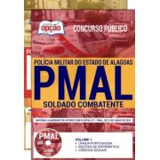 APOSTILA IMPRESSA - CONCURSO PM-ALAGOAS-1,8 - SOLDADO COMBATENTE