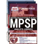 APOSTILA IMPRESSA e DIGITAL - CONCURSO MP - SP -ANALISTA JURÍDICO-1.8