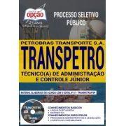 Apostila-TRANSPETRO-TÉCNICO (A) DE ADMINISTRAÇÃO E CONTROLE JÚNIOR -1.8  - IMPRESSA