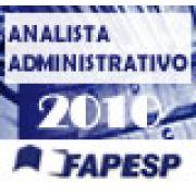 Concurso FAPESP - ANALISTA ADMINISTRATIVO 2010