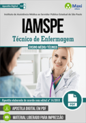 Concurso IAMSPE - 2018 | TÉCNICO DE ENFERMAGEM - VERSÃO DIGITAL