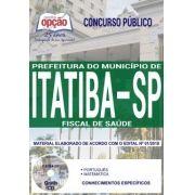 Concurso Município de Itatiba 2018 |  FISCAL DE SAÚDE - IMPRESSA