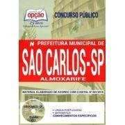 Concurso Prefeitura de São Carlos 2018 |  ALMOXARIFE - IMPRESSA