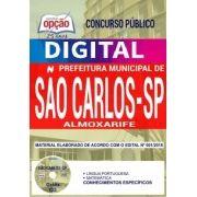 Concurso Prefeitura de São Carlos 2018 |  ALMOXARIFE - VERSÃO DIGITAL