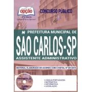 Concurso Prefeitura de São Carlos 2018 |  ASSISTENTE ADMINISTRATIVO - IMPRESSA