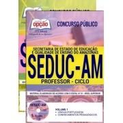 Concurso SEDUC AM 2018 |  PROFESSOR - CICLO - IMPRESSA