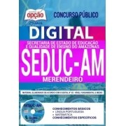 Concurso SEDUC AM 2018 |  MERENDEIRO - VERSÃO DIGITAL