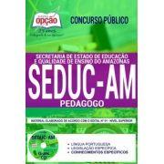 Concurso SEDUC AM 2018 |  PEDAGOGO - IMPRESSA