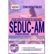 Concurso SEDUC AM 2018 |  PROFESSOR - ARTES - IMPRESSA