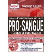 Concurso Fundação Pró-Sangue SP 2018    TÉCNICO DE ENFERMAGEM - IMPRESSA