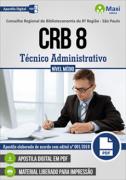 CRB 8 - Concurso Conselho Regional de Biblioteconomia 8ª Região - São Paulo - VERSÃO DIGITAL