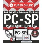CURSO ON LINE | Concurso ESCRIVÃO DE POLÍCIA CIVIL - SP.-1.8