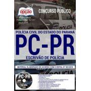 ESCRIVÃO de Polícia - PC - PARANÁ - Apostila Completa IMPRESSA-1.8