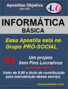 INFORMÁTICA BÁSICA-Apostila para Concursos Públicos - em PDF